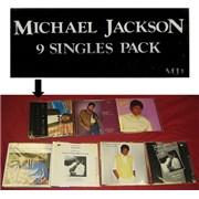 Michael Jackson 9 Singles Pack - Complete - EX 7
