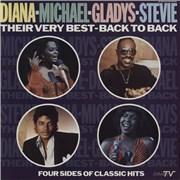Michael Jackson Diana - Michael - Gladys - Stevie - Their Very Best - Back To Back 2-LP vinyl set UNITED KINGDOM