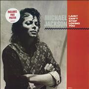 Michael Jackson I Just Can't Stop Loving You + Poster - EX 12