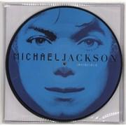 Michael Jackson Invincible picture disc LP UNITED KINGDOM