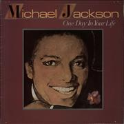 Michael Jackson One Day In Your Life vinyl LP UNITED KINGDOM