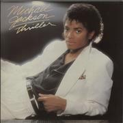 Michael Jackson Thriller - 1st vinyl LP UNITED KINGDOM