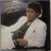 Michael Jackson Thriller - 2nd + Inner vinyl LP UNITED KINGDOM