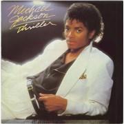 Michael Jackson Thriller - 2nd vinyl LP UNITED KINGDOM