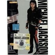 Michael Jackson World Tour 1988 + Ticket Stub tour programme UNITED KINGDOM