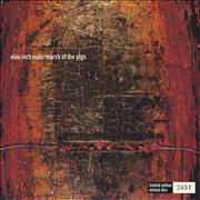 Nine Inch Nails March Of The Pigs - Etched 7