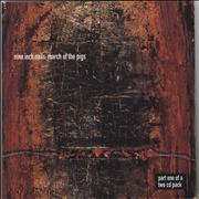 Nine Inch Nails March Of The Pigs 2-CD single set UNITED KINGDOM