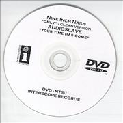 Nine Inch Nails Only promo DVD-R USA
