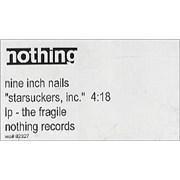 Nine Inch Nails Starsuckers, inc video USA