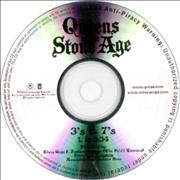 Queens Of The Stone Age 3's & 7's CD-R acetate USA