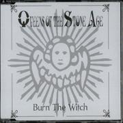 Queens Of The Stone Age Burn The Witch CD single UNITED KINGDOM