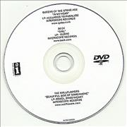 Queens Of The Stone Age In My Head promo DVD-R USA