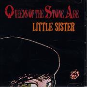 Queens Of The Stone Age Little Sister CD single USA