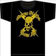 Queens Of The Stone Age Skull T-Shirt - Large t-shirt UNITED KINGDOM