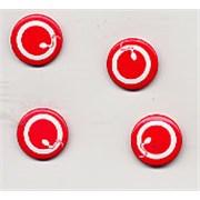 Queens Of The Stone Age Sperm Logo Badge memorabilia USA