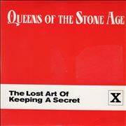 Queens Of The Stone Age The Lost Art Of Keeping A Secret CD single UNITED KINGDOM