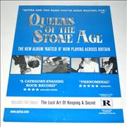 Queens Of The Stone Age The Lost Art Of Keeping A Secret poster UNITED KINGDOM