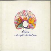 Queen A Night At The Opera - 1st - EX vinyl LP UNITED KINGDOM