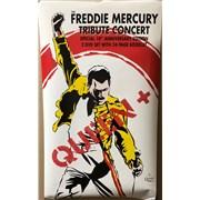 Queen Freddie Mercury Tribute Concert poster UNITED KINGDOM