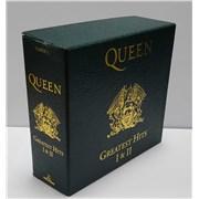 Queen Greatest Hits Box I & II box set UNITED KINGDOM