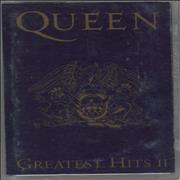 Queen Greatest Hits II cassette album UNITED KINGDOM