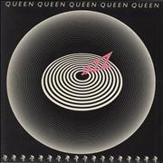 Queen Jazz - 1st + Detached Poster + Inner - EX vinyl LP UNITED KINGDOM