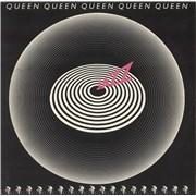 Queen Jazz - 1st + Poster vinyl LP UNITED KINGDOM