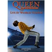 Queen Live At Wembley Stadium/Greatest Video Hits 2 handbill UNITED KINGDOM