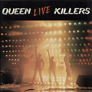 Queen Live Killers - barcoded p/s - EX 2-LP vinyl set UNITED KINGDOM