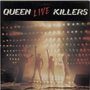Queen Live Killers - EX 2-LP vinyl set UNITED KINGDOM