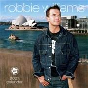 Robbie Williams 2007 Calendar calendar UNITED KINGDOM