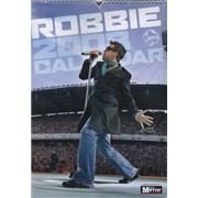 Robbie Williams Calendar 2008 calendar UNITED KINGDOM