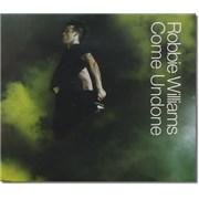 Robbie Williams Come Undone CD single UNITED KINGDOM