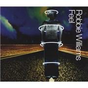 Robbie Williams Feel CD single UNITED KINGDOM