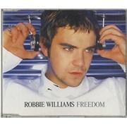 Robbie Williams Freedom - Parts 1 & 2 2-CD single set NETHERLANDS