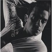 Robbie Williams Greatest Hits CD album AUSTRALIA