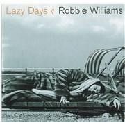 Robbie Williams Lazy Days CD single NETHERLANDS