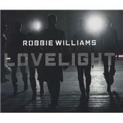 Robbie Williams Lovelight 2-CD single set UNITED KINGDOM