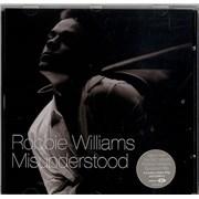 Robbie Williams Misunderstood 2-CD single set UNITED KINGDOM