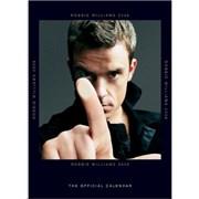 Robbie Williams Official Calendar 2006 calendar UNITED KINGDOM