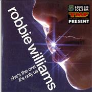 Robbie Williams She's The One CD single NETHERLANDS