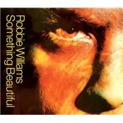 Robbie Williams Something Beautiful CD single UNITED KINGDOM