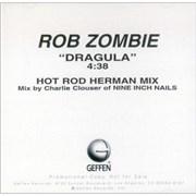 Rob Zombie Dragula - Hot Rod Herman Mix CD-R acetate UNITED KINGDOM