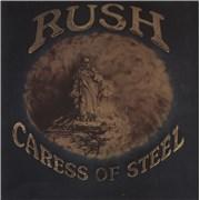 Rush Caress Of Steel - EX vinyl LP UNITED KINGDOM