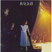 Rush Exit... Stage Left 2-LP vinyl set UNITED KINGDOM