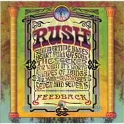 Rush Feedback CD album UNITED KINGDOM