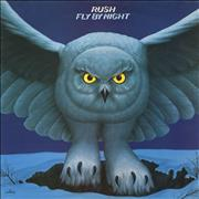 Rush Fly By Night vinyl LP UNITED KINGDOM