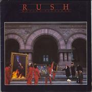Rush Moving Pictures - VG vinyl LP UNITED KINGDOM
