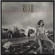 Rush Permanent Waves - Censored Sleeve vinyl LP UNITED KINGDOM