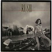Rush Permanent Waves - mid 80s vinyl LP UNITED KINGDOM